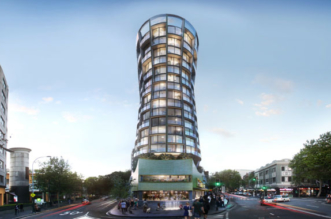 The proposed Omnia apartments in Sydney's Kings Cross - another hotel converted to flats