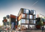 In Brief: Brutalist block out but containers in