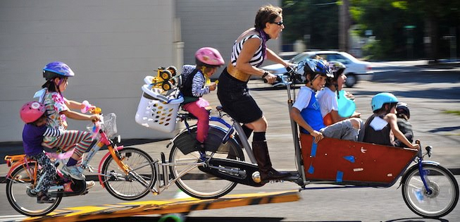 Forget the car space it's time to get on your bike