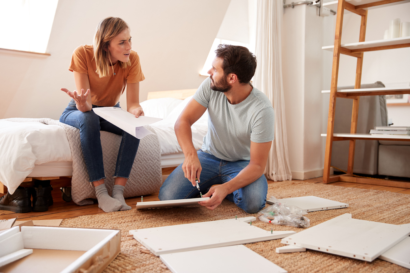 How to save a marriage: Outsource the Flatpack!